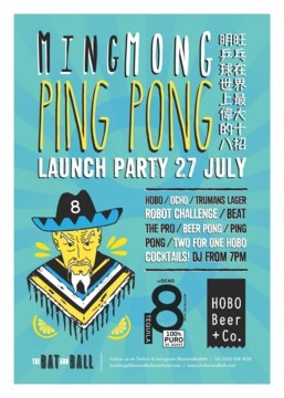 Ming Mong Ping Pong Re-launch Party
