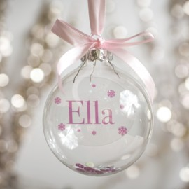 Personalise your Christmas bauble