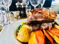 Sunday Roasts in our Albert Room