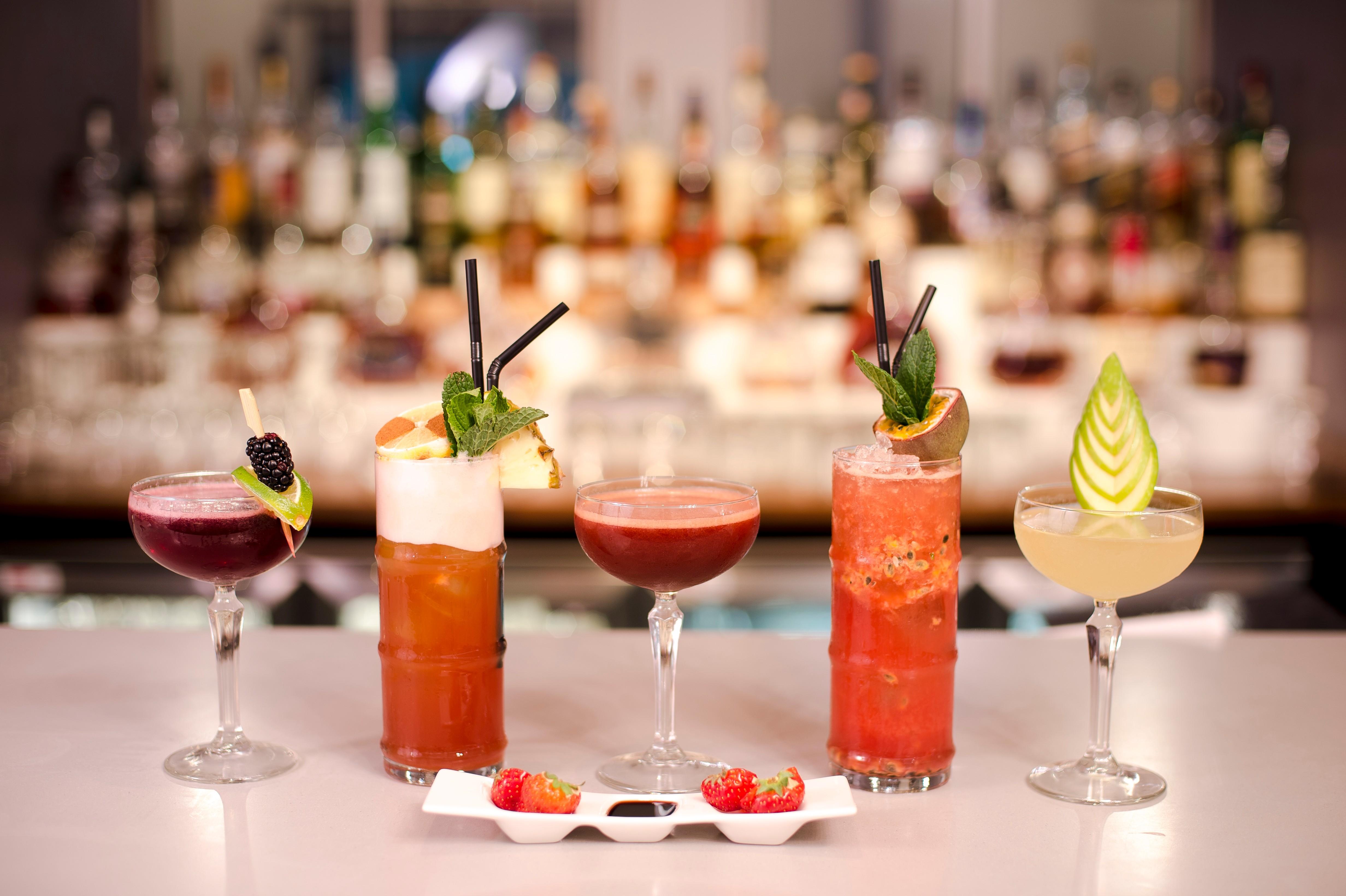 Cocktails_Burlesque Martini_Illusion Cocktail_Strawberry Daiquiri & Balsamic_The Optimistic_Camomile & Apple Martini-3.jpg