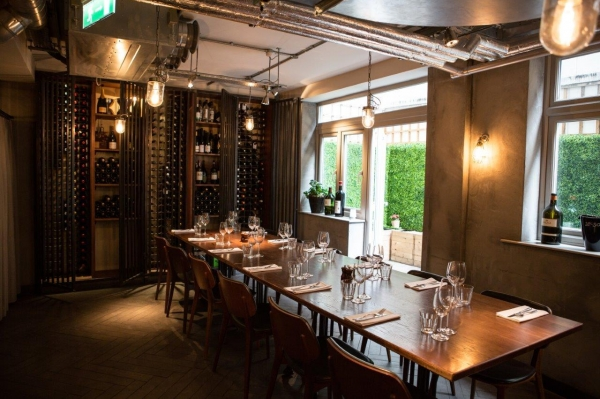 28 50 wine workshop kitchen gallery city for Best private dining rooms city of london