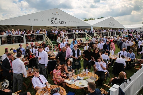 SAGARO BAR AT ROYAL ASCOT