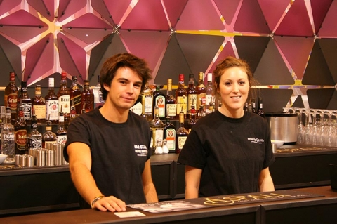 COCKTAIL BAR AT 100% DESIGN, EARLS COURT