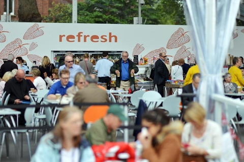 REFRESH BAR AT RHS CHELSEA FLOWER SHOW