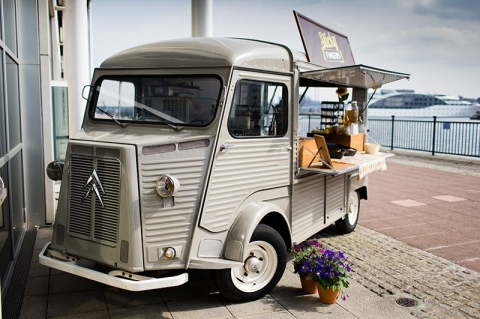 ONE OF OUR CITROEN VANS, 'BERNADETTE'