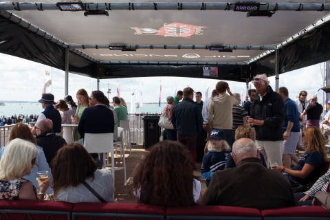 Gosling's Rum Bar at Americas Cup, Portsmouth 2015