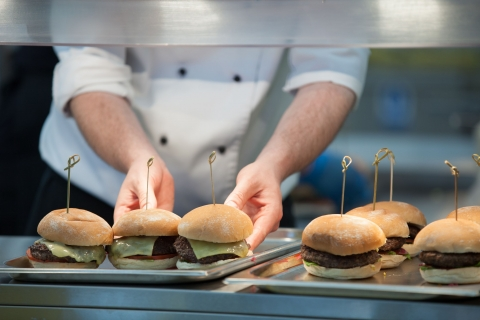 Messy Chops Burgers at Royal Ascot 2015