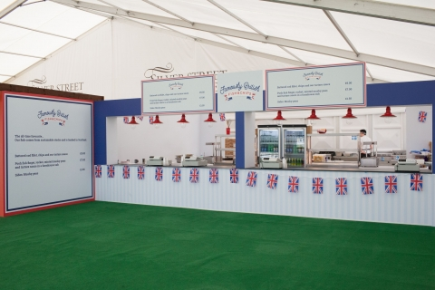 Famously British Fish and Chips at Royal Ascot 2015