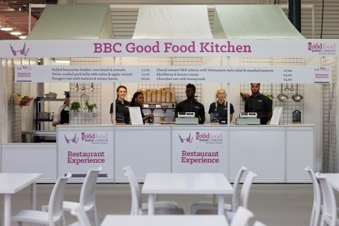 BBC Good Food Show, Olympia London 2015