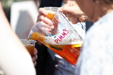 Pimm's & Lemonade at RHS Chelsea Flower Show