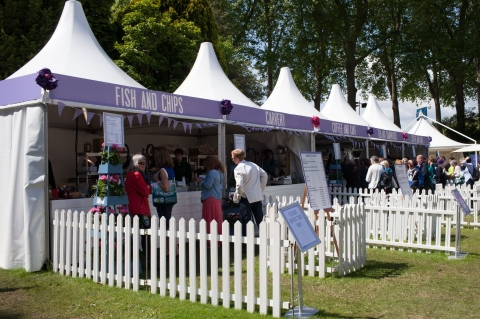 Fish  & Chips and Carvery at RHS Chelsea Flower Show 2015