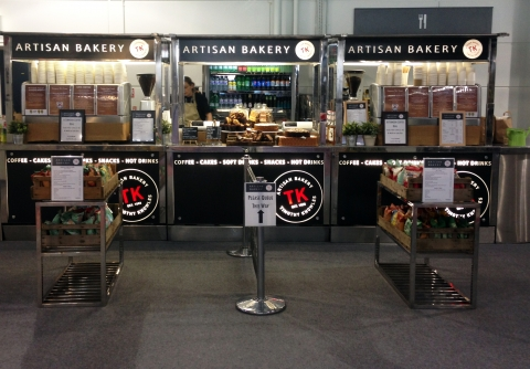 TK Artisan Bakery Coffee Carts
