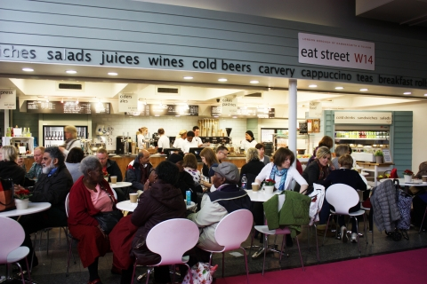 eat street W14 at Olympia London