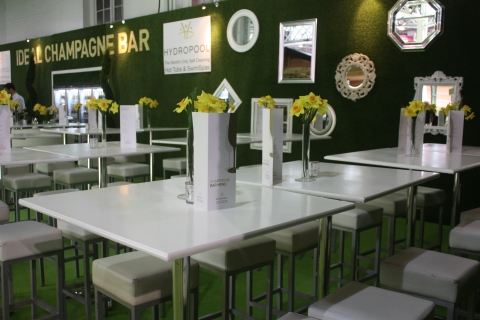 Ideal Champagne Bar at Ideal Home Show, Olympia London 2015