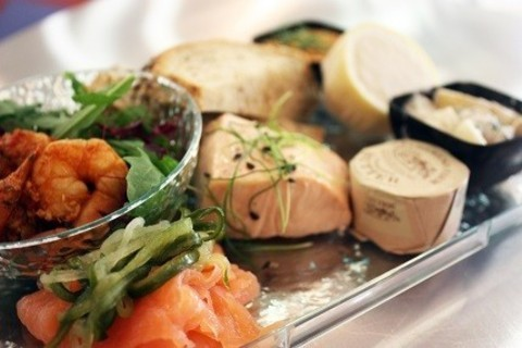 Seafood platter, Champagne and Seafood Bar