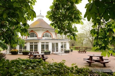 The Pavillion Cafe at Greenwich Park