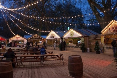 The Outpost, Winter Wonderland, Hyde Park 2015