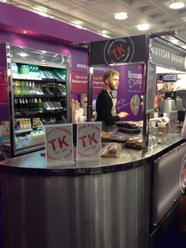 TK Artisan Bakery Coffee Cart