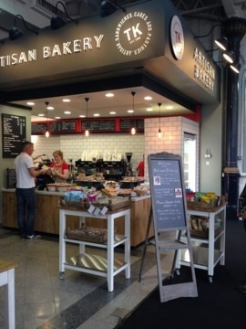 TK Artisan Bakery, Olympia London