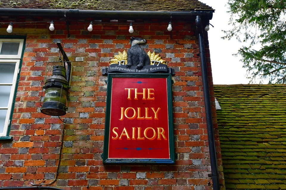 The Jolly Sailor, Bursledon (www.jollysailoroldbursledon.co.uk)