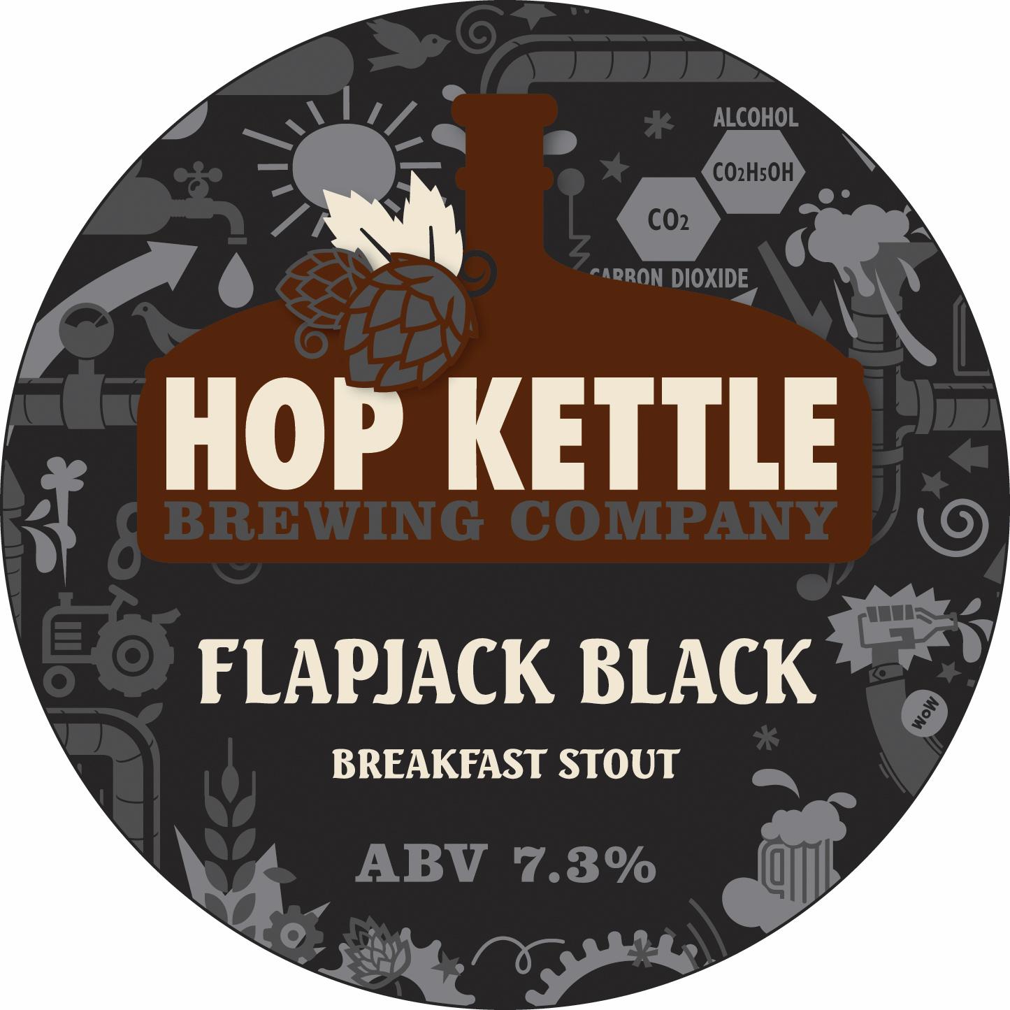 Hop Kettle Flapjack Black