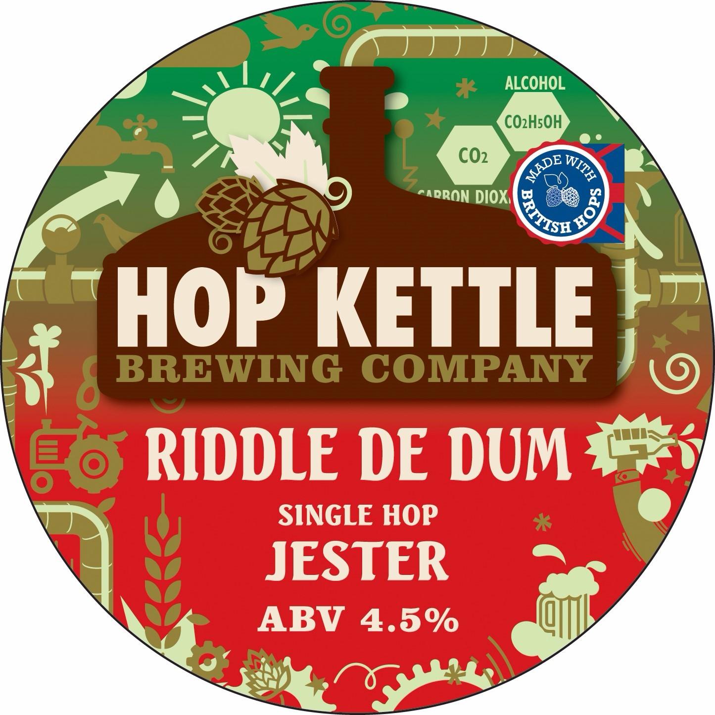 Hop Kettle Riddle de Dum