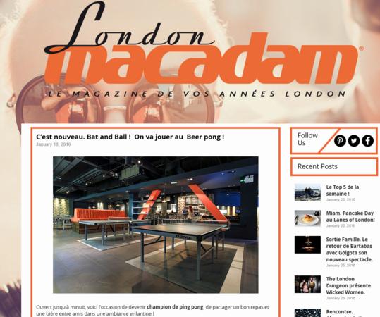 London Macadam