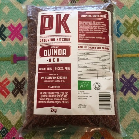PK Organic Red Quinoa, 2kg bag