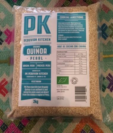 PK Organic White Quinoa, 2kg bag