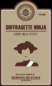 Suffragette Ninja