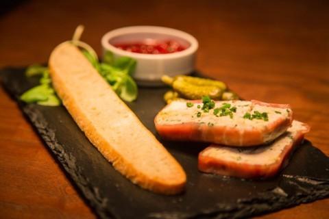 Smoked mackerel & horseradish paté